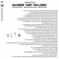 tarot challenge instagram january - Google Search