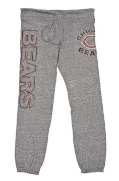 Chicago Bears Womens Triblend Yoga Pants.http://www.clarkstreetsports.com/Chicago-Bears-Womens-Triblend-Yoga-Pants.html