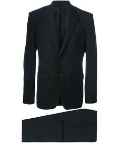 GIVENCHY Givenchy Men'S 16F1243020001 Black Wool Suit'. #givenchy #cloth #suits