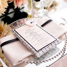 LOVE this Chanel wedding inspiration ... so many great details modeled after this iconic designer. Pam Scott Photo