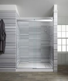 A cast-iron shower base can be a strong choice - The Orange County Register Clean Shower Doors, Glass Shower Doors, Shower Base, Shower Floor, Shower Stalls, Rain Shower, Tile Floor, Orange County, Kohler Shower