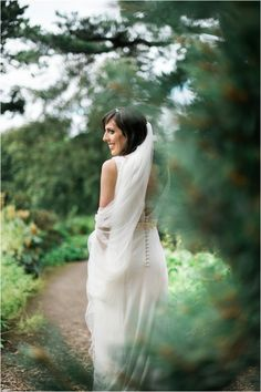 Scottish wedding photoshoot Royal Botanic Gardens Edinburgh. Bride in white wedding dress by Freja Designer Dressmaking, wedding photography in Scotland by Cro&Kow Love photographers