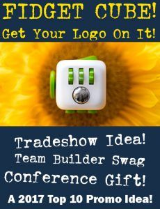 Fidget cube fidget gadget for promotional product and tradeshow marketing. Get Your Logo On It.