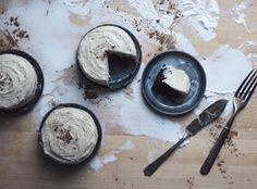 Mini Chocolate Cakes with Cardamom Buttercream | FOLK