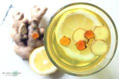 Immunsystem stärken mit Ingwer-Kurkuma-Zitronen-Tee - MY DAILY GREEN