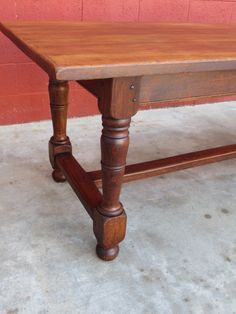 French Antique Harvest Table