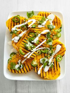 Grilled Mango With Jalapenos