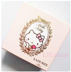 Pink Sparkle Fun: Hello Kitty Laduree Macarons