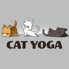 TeeTurtle - Animali -Cat Yoga T-Shirt TeeTurtle - Animali - Cactus In The Night – Gouache sur papier aquarelle noir de Philip Boelter Alone is My Happy Place Cute Cat Drawing, Cute Animal Drawings, Kawaii Drawings, Cute Drawings, Cat Cartoon Drawing, Cartoon Cats, Cat Face Drawing, Kitty Drawing, Yoga Drawing
