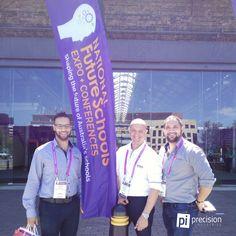 Team Pi visiting Future Schools Expo at Sydney Technology Park #precisionindustries #pi #futureschools @EduTECH_AU