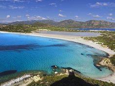 Top 4 beaches around Cagliari in Sardinia