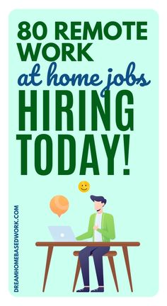 If you've ever considered transitioning to a work from home career, now would be a perfect time. This massive list of work from home companies hiring now will help you know where to start your search. You'll also learn more tips to help you land the job. Save and review this list often! #hiring #jobs #workathome