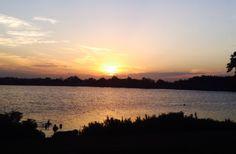 Veterans Lake. Sulphur, Oklahoma
