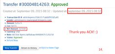 I WORK FROM HOME less than 10 minutes and I manage to cover my LOW SALARY INCOME. If you are a PASSIVE INCOME SEEKER, then AdClickXpress (ACX) is the best ONLINE OPPORTUNITY for you. I am getting paid daily at ACX and here is proof of my latest withdrawal. This is not a scam and I love making money online with Ad Click Xpress. http://www.adclickxpress.com/?r=freedomb&p=aa