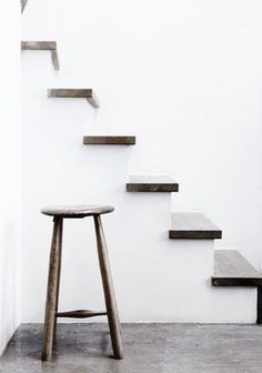Discover more of the best Design, Stairs, Chaser, Statement, and Interior inspiration on Designspiration Interior Stairs, Interior Architecture, Interior And Exterior, Interior Office, Wood Stairs, House Stairs, Monday Inspiration, Interior Inspiration, Interior Ideas