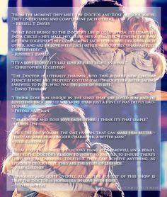 Tenth Doctor and Rose Tyler, Doctor Who || No way of denying they loved each other after this!