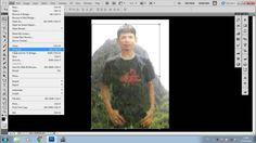 Cara membuat photo tembus pandang - Photoshop CS5