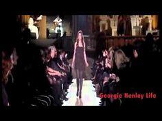 This show clip features Georgie when she walked the catwalk in Alberta Ferretti's fashion show in 2011.    http://georgiehenleylife.blogspot.com/    © Alberta Ferretti, Pitti Immagine