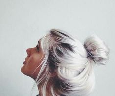 white silver hair tumblr - Google Search
