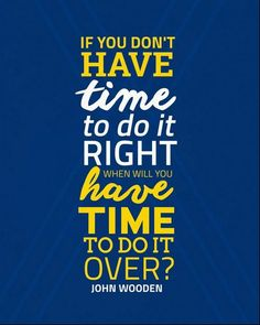 John Wooden #UCLA Bruins Inspirational Time Quote Poster Print | Downloadable…