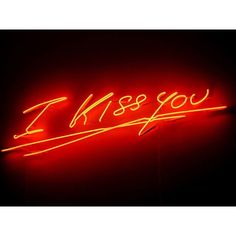 It opened today at Hayward Gallery the first London solo exhibition by Tracey Emin celebrating her careeer. Relationship Images, Hayward Gallery, Turner Prize, Tracey Emin, Neon Words, Heartbreak Hotel, Neon Nights, Red Aesthetic, Kiss You