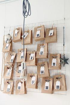 ♥ homemade advent calendar.