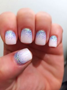 Glitter Nail Art Ideas (95)