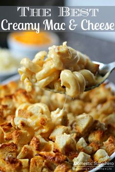 The Best Creamy Mac & Cheese - this is the creamiest and most decadent recipe I've come across