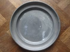 Antique French medium Pewter Etain dish tray charger platter plate serving table display old aged used circa 1850-1900's Purchase in store here http://www.europeanvintageemporium.com/product/antique-french-medium-pewter-etain-dish-tray-charger-platter-plate-serving-table-display-old-aged-used-circa-1850-1900s-3/