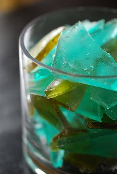 """more rock candy: use green and blue for """"sea glass"""" colors."""