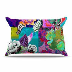 "Fernanda Sternieri ""Chita"" Multicolor Abstract Pillow Sham"