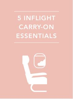 Make your flight as comfortable as possible by making sure you pack a few essentials
