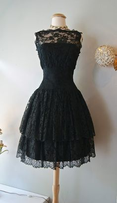 Little Black Dress for my baby :) Xtabay Vintage Clothing Boutique - Portland, Oregon