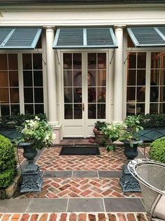 We found different kinds of awnings and shades, from more laidback ideas to classy or bohemian style, we have got enough for you to decide which one would look the best outside your place. Go to glamshelf.com for more ideas.
