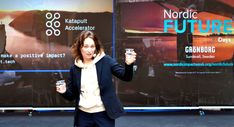Maria from Katapult Accelerator at Nordic FUTURE days Future Days, Sweden, How To Make, Catapult