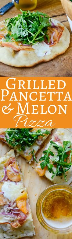 Ever grilled pizza? This easy pizza recipe makes a great lunch or slice it into strips for a fun appetizer!