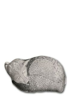 Fox Pillow - White by The Rise and Fall on @HauteLook