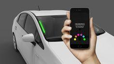 Novedad para identificar el Uber que debe recogerte: Luces LED de colores