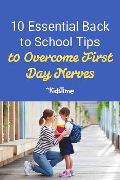 10 Back to School Tips to Overcome First Day Nerves Make School, Back To School Hacks, School Tips, Going Back To School, After School, First Day Of School, People Change, Bedtime Routine, Day Planners