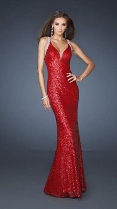 red prom dresses 2014 - Google Search