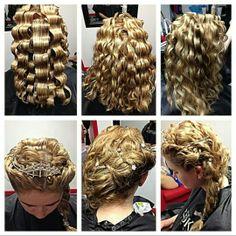 Queen Elsa hair