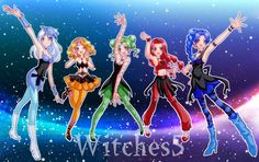Sailor Moon / Witches 5