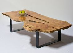 Live Edge Coffee Table - Reclaimed Maple | Flickr - Photo Sharing!