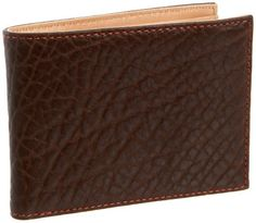 Tusk Amsterdam Traditional Billfold,Chocolate,one size Tusk. $70.00. leather. Made in China