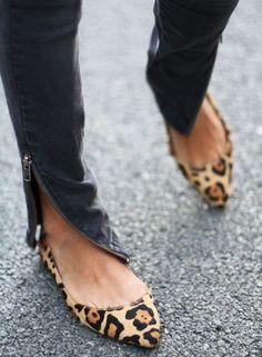 Steve Madden leopard flats > gorgeous & sassy!