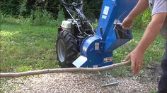 BIO 80 Chipper Shredder - BCS 749 Tractor