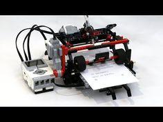 LEGO Printer - YouTube