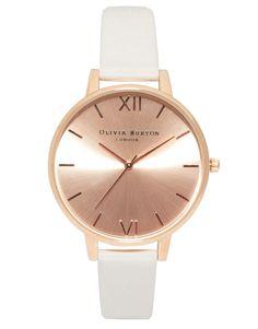 Olivia Burton | Olivia Burton Big Dial Rose Gold Watch. BUY IT HERE: http://www.aidamay.co.uk/olivia-burton-midi-dial-rose-gold-watch-mink?manufacturer_id=49