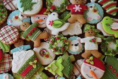 Новогоднее печенье Любы Златковой