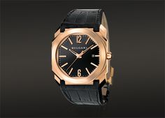 OCTO automatic watch with a 18kt pink gold case Bvlgari Watches, Men s  Watches, Gold 94a539a29a7